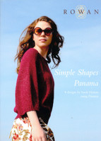 Rowan Knitting Pattern Book Book - Simple Shapes Panama