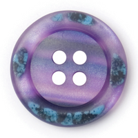 Purple Buttons with an enamel look on the rim | 18 mm  | Polyester