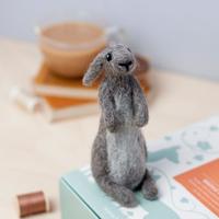 Hawthorn Handmade | Standard Felting Kit | Rabbit
