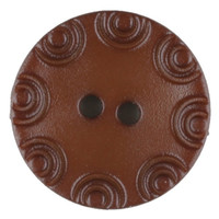 Dill Buttons | Brown with little circular edge |13 mm