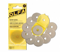 Olfa Rotary Blades 45mm Replacements Pack of 10 - Main Image