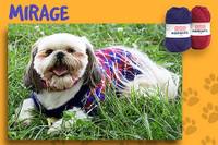 Adriafil Dog Jacket / Jumper Knitting Pattern Booklet with 4 Knitting Designs   Adriafil Unicol, Zabrino, Mirage & Knitcol