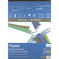 Daler Rowney Murano Pastel Pads | Cool Colours | Various Sizes