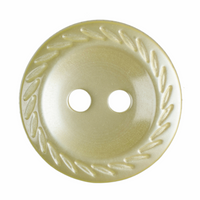 Cut edged buttons | 14 mm |Lemon |  Trimits buttons