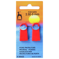 Pony Point Protectors 2 pack | 2.5 - 5 mm Knitting needle size