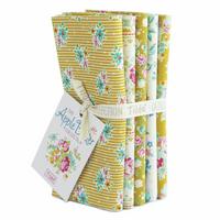 Tilda | Apple Butter | Fat Quarter Bundle | 5pcs | Yellow/White