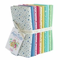 Tilda | Apple Butter | Fat Quarter Bundle | 10pcs | Pearls & Solids
