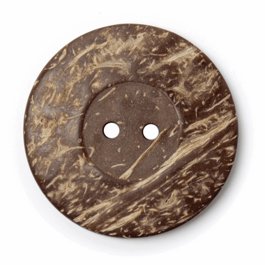 Coconut Buttons | 50mm | Brown (BF\8570)