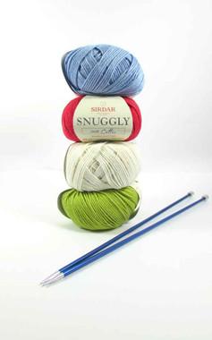 Sirdar Snuggly 100% Cotton DK   50g balls   Various Shades (F230)