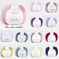 Sirdar Snuggly 100% Cotton DK   50g balls   Various Shades - Main