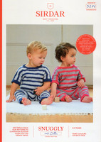 Baby and Toddler Onesies | Sirdar Snuggly 100% Cotton Dk - 5276