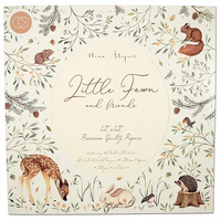 "Craft Consortium | Little Fawn & Friends | Premium Paper Pad | 12"" x 12"""