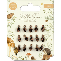 Craft Consortium | Little Fawn & Friends | Pinecone Charms