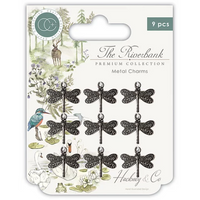 Craft Consortium | The Riverbank | Dragonfly Charms