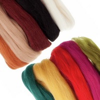 Trimits   Natural Wool Roving   50g   Assorted Colours - Main image