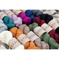 WYS The Croft Shetland Aran Solid Colours Knitting Yarn 100g Hanks | Various Shades (main image)