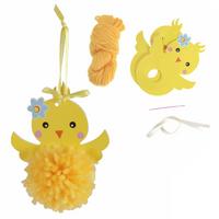 Trimits | Pom Pom Decoration Kit | Chick