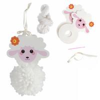 Trimits | Pom Pom Decoration Kit | Sheep