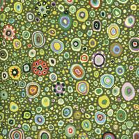 Kaffe Fassett fabrics | Roman Glass | Leafy| Freespirit Fabrics (QGP0100-0Leafy)