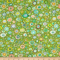 Kaffe Fassett fabrics | Roman Glass | Leafy| Freespirit Fabrics (QGP0100-0Leafy) - Main Image