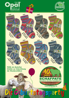 Opal Viridian Schafpate 10 years 4 Ply Sock Knitting Yarn, 100g Balls | Various Shades - Main Image