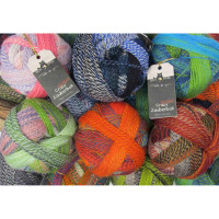Schoppel Zauberball Crazy 4 Ply Multi-Coloured Knitting Yarn, 100g Balls | Various Shades - Main