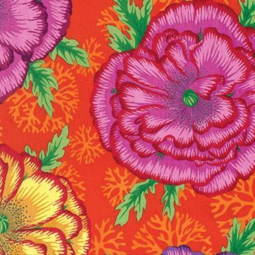 Orange | Henley | Kaffe Fassett | Mez Gmbh Fabrics - Main Image