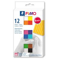 Staedtler | Fimo Soft | Basic Colour Pack | 12 Colours