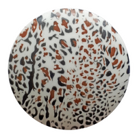 Animal Print Buttons | Dill Buttons | 28 mm