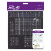 DoCrafts | Creativity Essentials | Clear Stamp Block Set