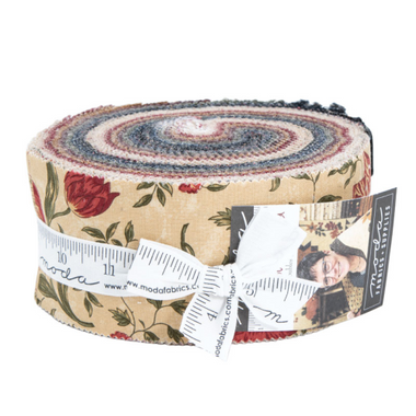 On Meadowlark Pond | Kansas Troubles Quilters | Moda Fabrics | Jelly Roll