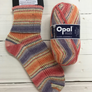 Opal Cotton Premium 4 Ply Sock Knitting Yarn in 100g Balls | Various Colours - 9711 Flower Meadow