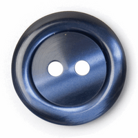 Blue Silk look Plastic Buttons | 20 mm / 36 lignes