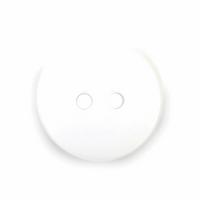 Plain White Buttons   15 mm   Trimits (S1010)