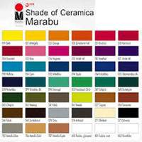 Marabu Ceramic (Ceramica) Paint, 50ml Glass Jars | Various Shades