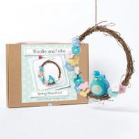 Woollie and Feltie | Spring Wreath
