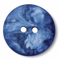 Round Buttons | 15mm | Blue Marbled Silk | 2B\1322
