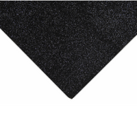 Acrylic Felt  - Glitter | 23cm x 30cm | The Craft Factory to Trimits | AF02 | Various Colours