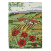 Anchor Tapestry Kit | 30cm x 22cm | Poppy Scape | KT126K