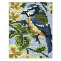 Anchor Tapestry Starter Kit | 18cm x 14cm | Blue Tit | MR928