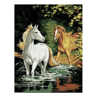 Anchor Tapestry Canvas | 47.5cm x 37cm | Royal Paris: The Ford | 9880142\0251