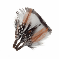 Assorted Natural Feathers | Short Plume | Trimits | CB302X
