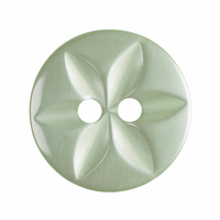 Star Buttons |  14 mm  |  Pale Green