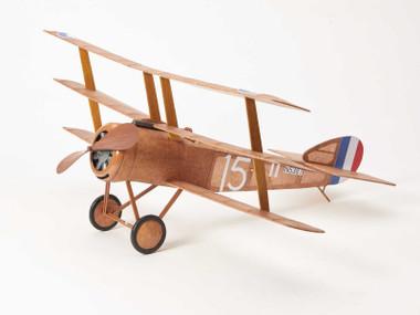 The Vintage Model Co. | Flying Model Kit | Sopwith Triplane | Final Result