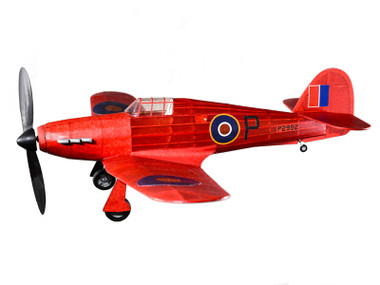 The Vintage Model Co.   Flying Model Kit   Hawker Hurricane   Final Result