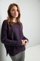 Kemp Town Sweater Knitting Pattern | Erika Knight Wild Wool