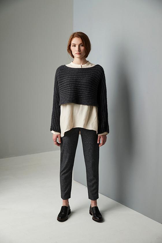 Hampstead Heath Oversized Cardigan Knitting Pattern Erika Knight