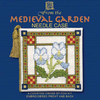 Textile Heritage | Cross Stitch Kits | Needle Cases | Medieval Garden