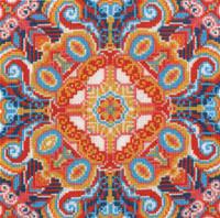 DMC Cross Stitch Kit Floral Illusion - Main