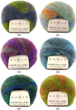 Rowan Kidsilk Haze Strip Knitting Yarn | Various Colours - Main
